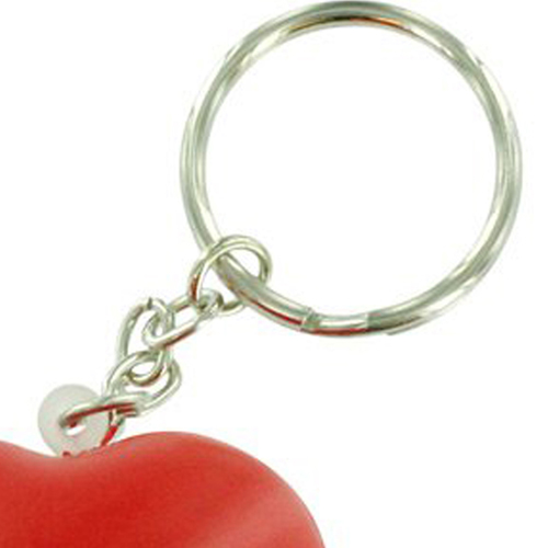 Valentine Heart Shaped Stress Ball Keychain Image 3
