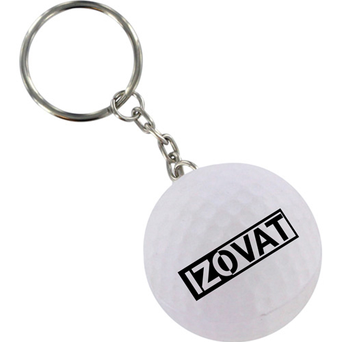 Golf Stress Ball Key Chain