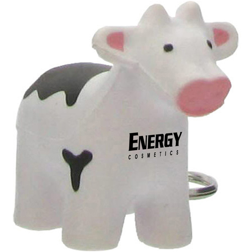 Cow Stress Reliever Key Tag Image 1
