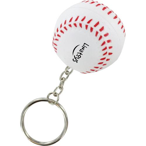 Sports Baseball Stress Key Chain Image 1