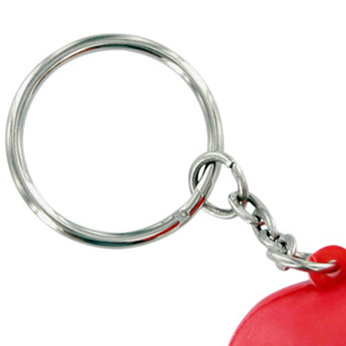 Heart Shaped Stress Ball Keychain Image 3