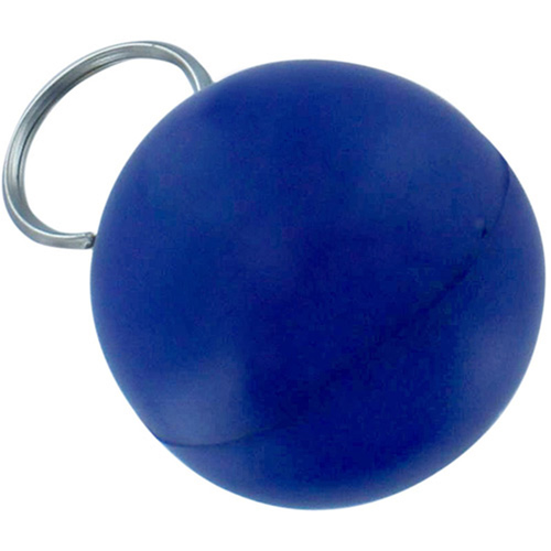 Drop Shaped Stress Ball Keychain Image 1