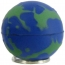 Earth Ball Stress Ball Keychain Image 2