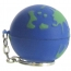 Earth Ball Stress Ball Keychain Image 3