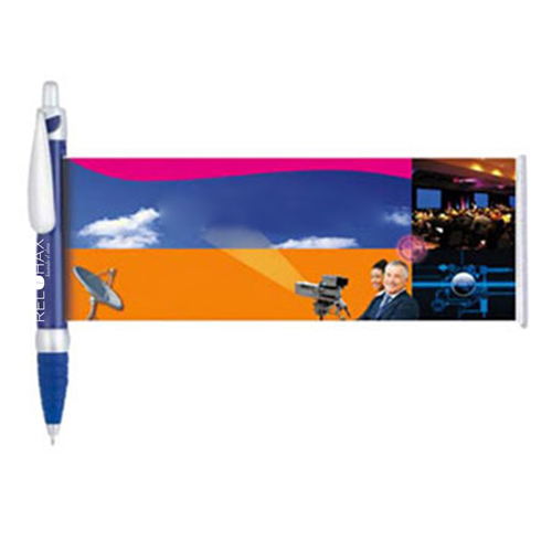 Retractable Ballpoint Banner Pen Image 9