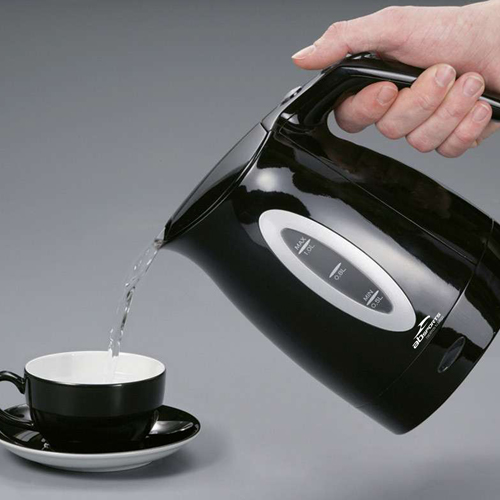 Portable 1 Liter Electric Kettle With Water Window