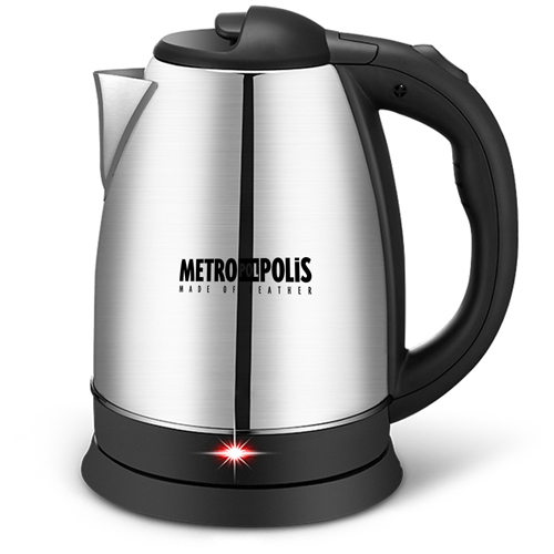 Stainless Steel 1.8L Electric Kettle Image 1