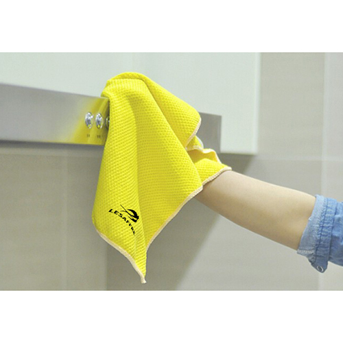 Glass Floor Cleaning 2 Pieces Kitchen Towel Image 5