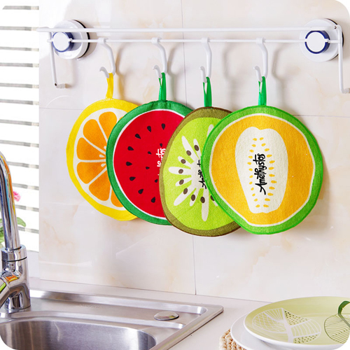 Water Absorption Hanging Kitchen Towel Image 1