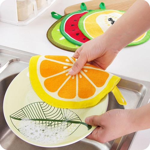 Water Absorption Hanging Kitchen Towel Image 2