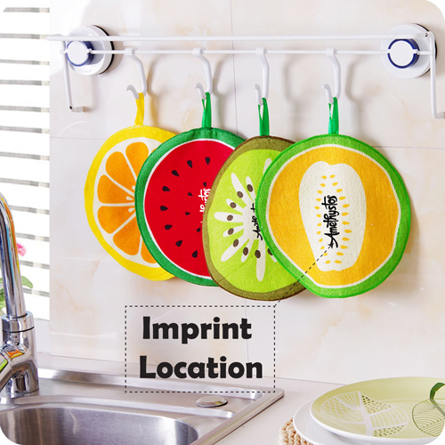 Water Absorption Hanging Kitchen Towel Imprint Image
