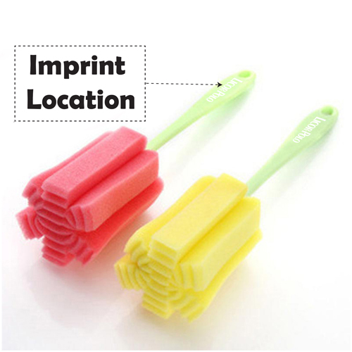 Durable Cup Sponge Cleaning Brush Imprint Image