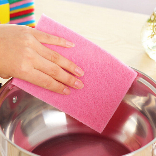 Kitchen Dish Cleaning Scouring Pad Image 2