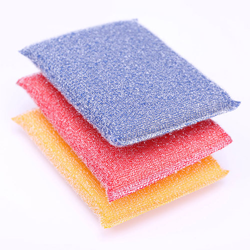 Polyester 6 Pieces Magic Kitchen Cleaning Sponge Image 1