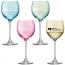 Polka Wine Glass Pastel