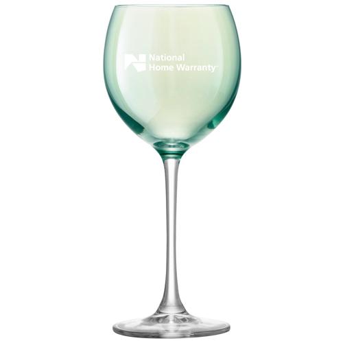 Polka Wine Glass Pastel Image 3