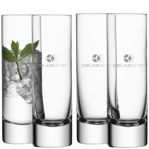 Bar Long Drink Clear Glass Image 2