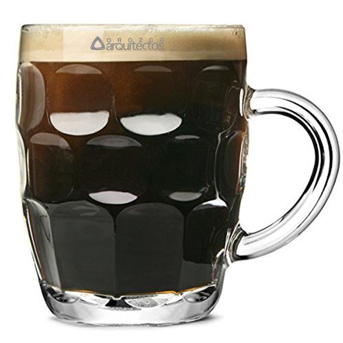 Dimpled Britannia Pint Mug Image 1