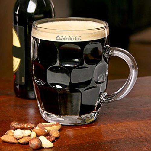 Dimpled Britannia Pint Mug
