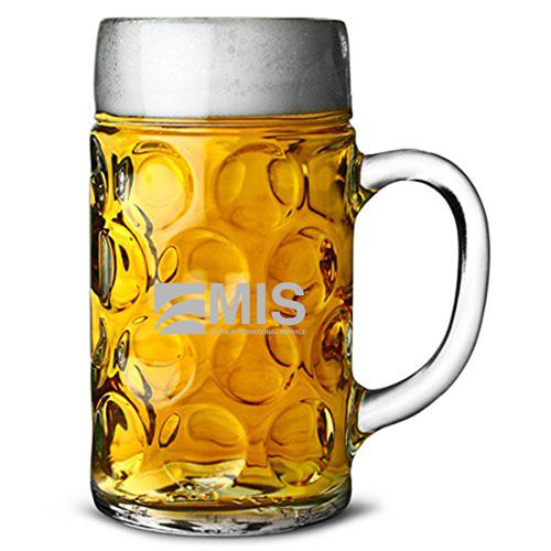 Stein Beer 2 Mugs Tankard Mug