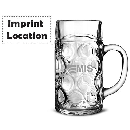 Stein Beer 2 Mugs Tankard Mug Imprint Image