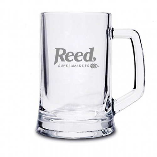 Crystal Pint Tankard With Handle