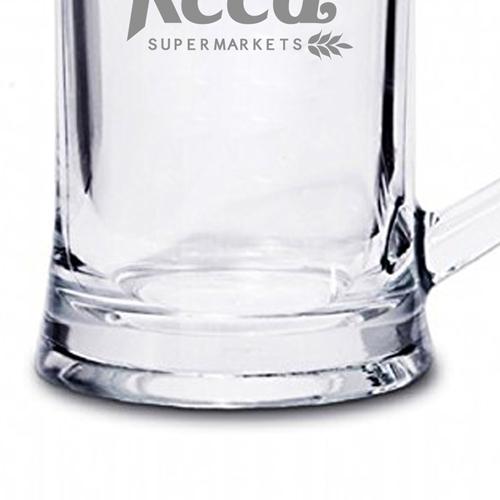 Crystal Pint Tankard With Handle Image 2