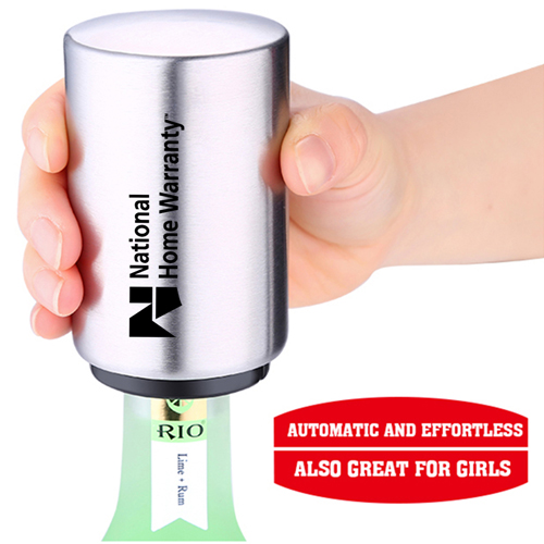Automatic Stainless Steel Beer Bottle Opener Image 3