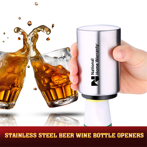 Automatic Stainless Steel Beer Bottle Opener Image 4