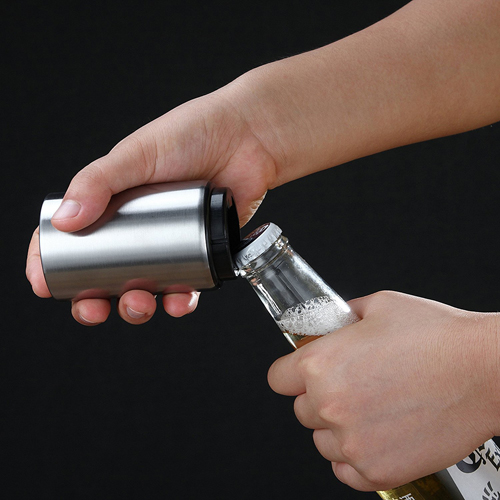Automatic Stainless Steel Beer Bottle Opener Image 8