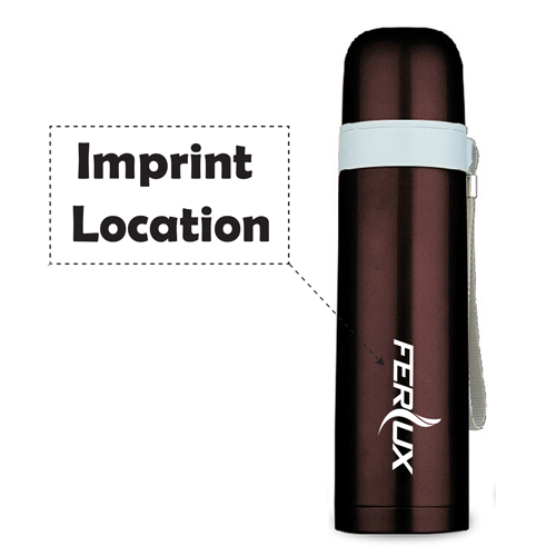 Vacuum Stainless Steel Insulated Bottle Imprint Image