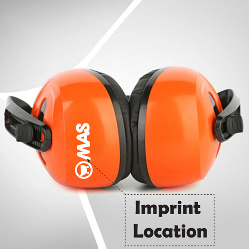 Shooting Ear Protection Earplugs Imprint Image