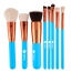 Wooden 8 Piece Makeup Brushes Set