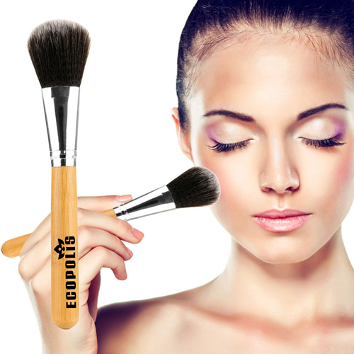 Professional Cosmetic Bamboo Handle Brushes