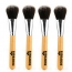 Professional Cosmetic Bamboo Handle Brushes Image 2