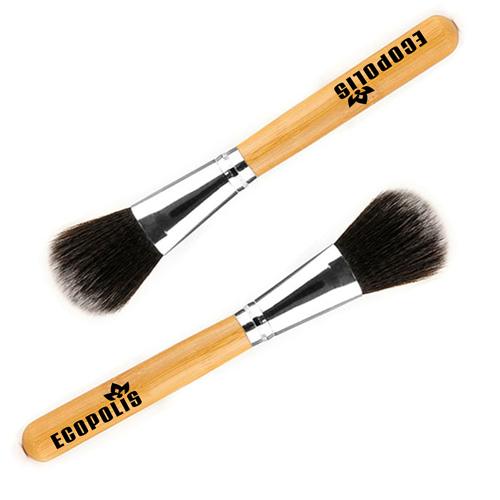 Professional Cosmetic Bamboo Handle Brushes Image 3