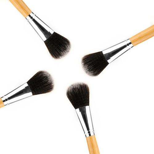 Professional Cosmetic Bamboo Handle Brushes Image 4