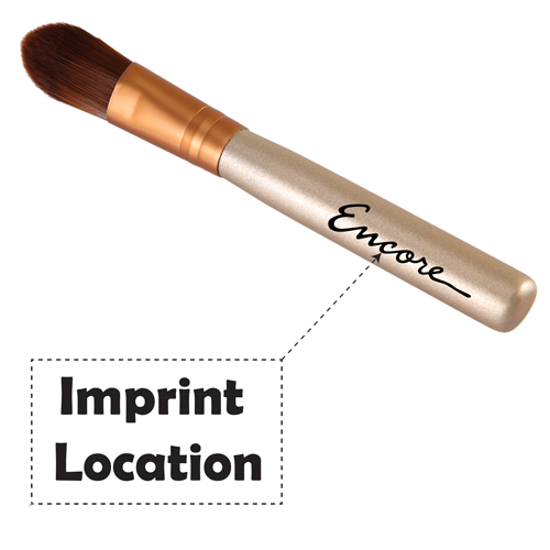 Wooden Base Eye-Shadow Brush Imprint Image
