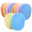 Fiber Face Makeup Cleaning Sponge Image 1
