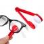 Plastic Microfiber 5 Pieces Sunglasses Cleaner