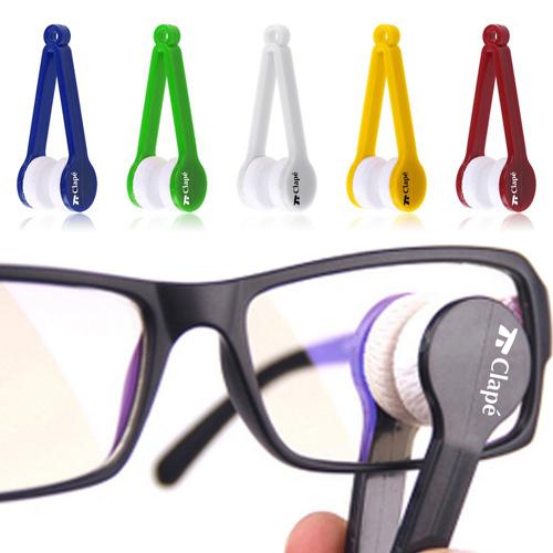 Plastic Microfiber 5 Pieces Sunglasses Cleaner Image 1