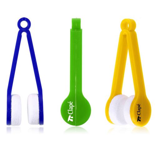 Plastic Microfiber 5 Pieces Sunglasses Cleaner Image 2