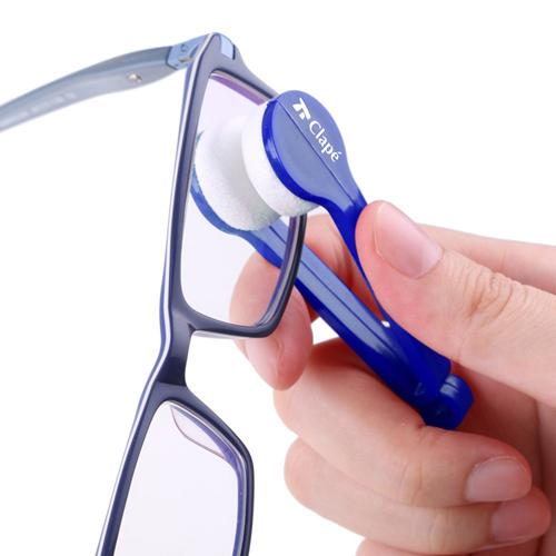 Plastic Microfiber 5 Pieces Sunglasses Cleaner Image 3