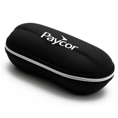 Portable Fiber Zipper Glasses Case Image 3