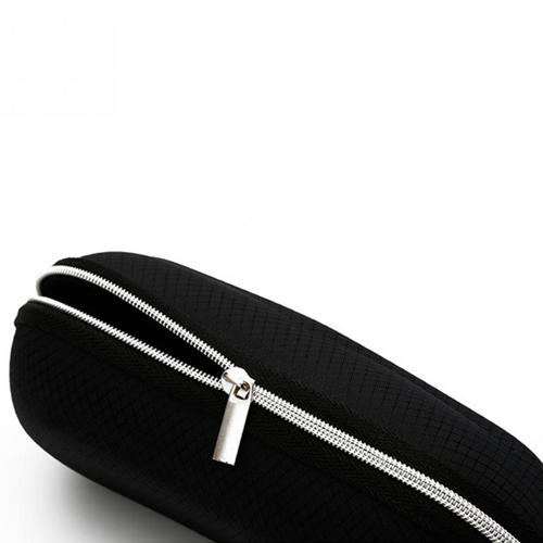 Portable Fiber Zipper Glasses Case Image 5