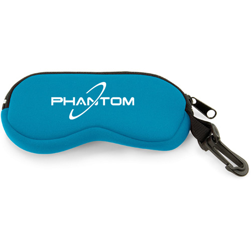 Neoprene Eyeglass Case with Clip Image 1