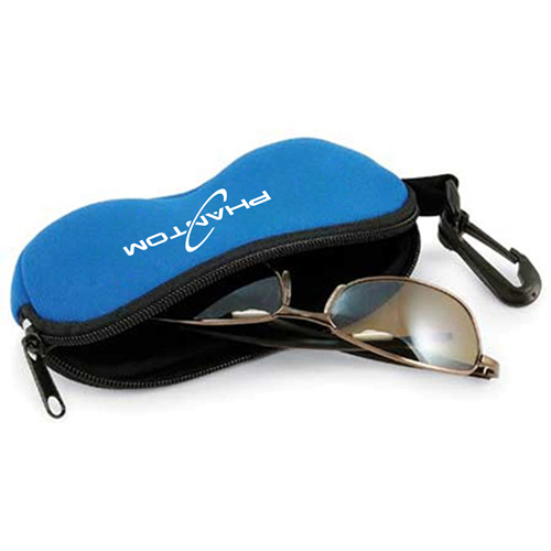 Neoprene Eyeglass Case with Clip Image 2