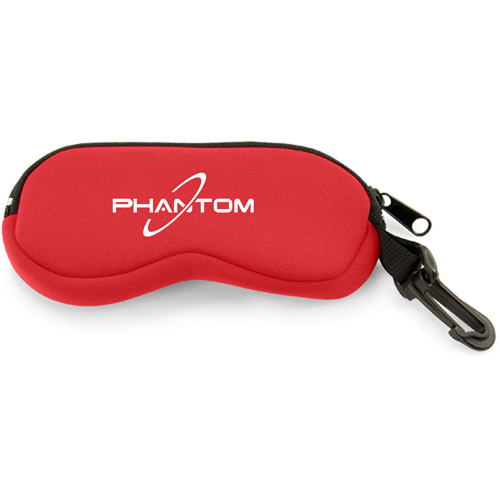 Neoprene Eyeglass Case with Clip Image 3