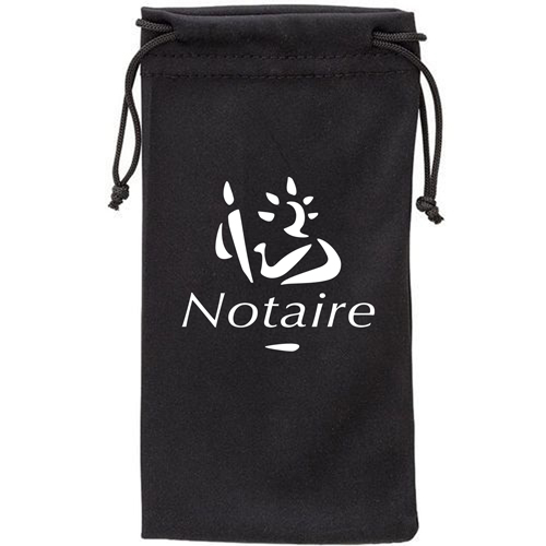 Polyester Sunglass Drawstring Pouch Image 2