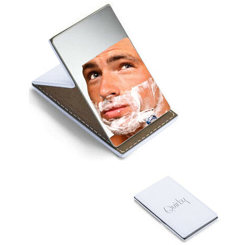 Stainless Steel Foldable Men and Women Cosmetic Mirror